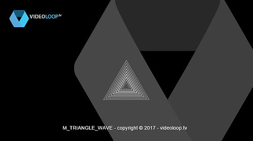 VideoLoop.tv | Wave triangle path