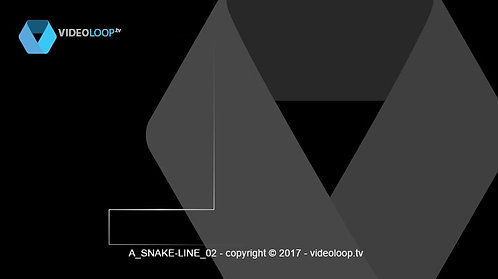 VideoLoop.tv | A line path animation