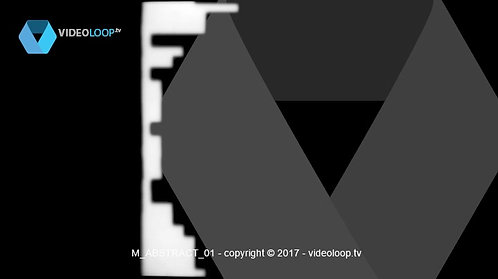 VideoLoop.tv | Abstract shape animation