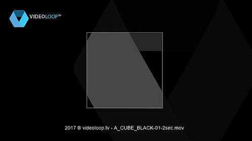 VideoLoop.tv | A wired rotating cube
