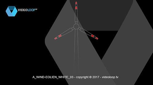 VideoLoop.tv | Wired wind turbine