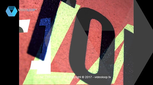 VideoLoop.tv | Fade in typography