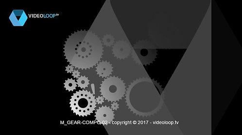 VideoLoop.tv | Rotating wheels