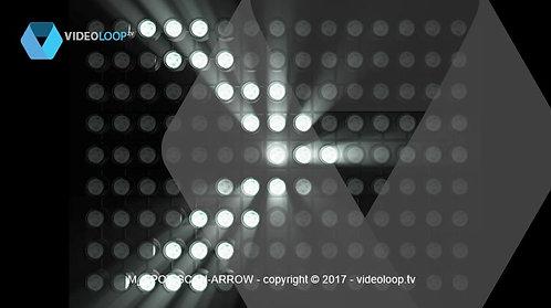 VideoLoop.tv | Spots lights scan arrow