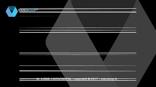 VideoLoop.tv   Horizontal lines animation