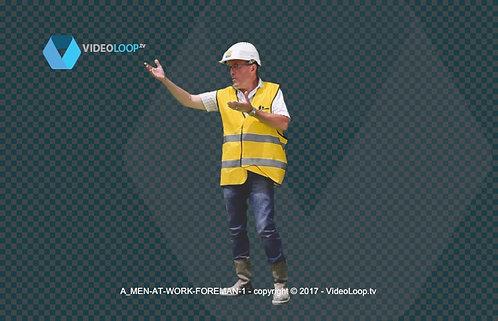 Videoloop.tv | Human |  Men at work