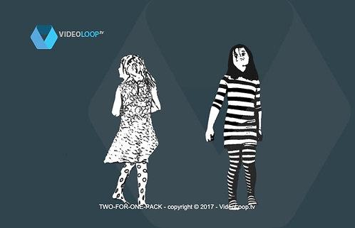 Videoloop.tv | Human | Girl