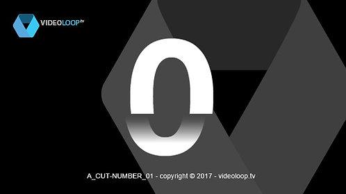 VideoLoop.tv | Cut numbers count up