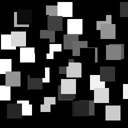 VideoLoop.tv | Squares animation for displacement map