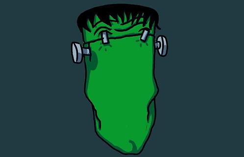 Videoloop.tv | Halloween | Frankenstein head