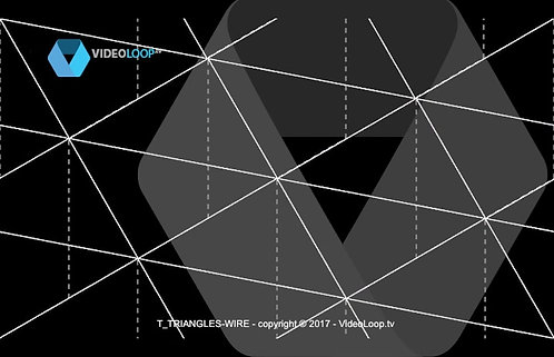 A isometric triangles animation - Seamless pattern
