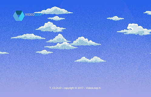 Videoloop.tv | Sky | Tiled clouds