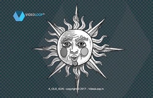videoloop.tv | Hand drawing sun