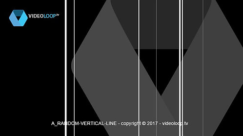 VideoLoop.tv | Random vertical lines animation