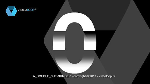 VideoLoop.tv   Double cut numbers count up