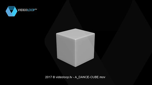 DVideoLoop.tv | Dancing cube
