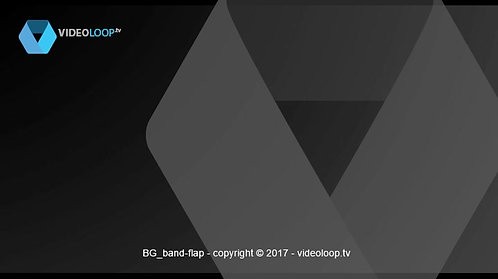 VideoLoop.tv | Flipped band animation