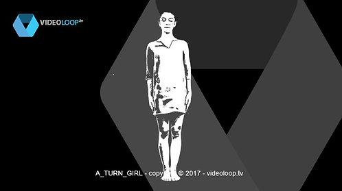 videoloop.tv | A turn girl