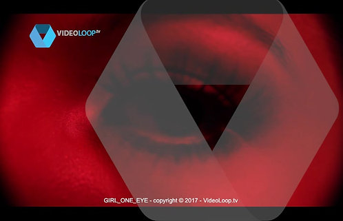videoloop.tv | Girl one eye