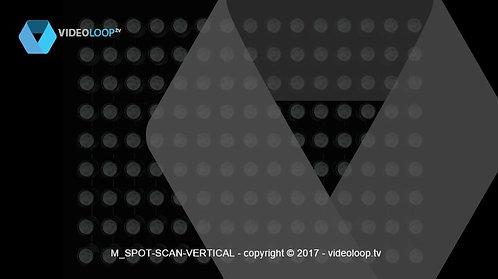 VideoLoop.tv | Spots lights vertical scan