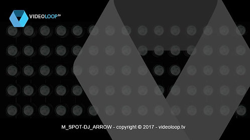 VideoLoop.tv | Spots lights arrow