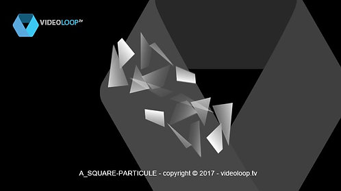 VideoLoop.tv | Particles square