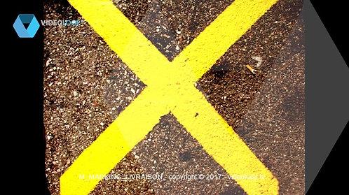 VideoLoop.tv | A road marking