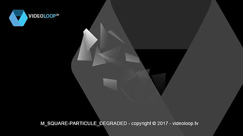 VideoLoop.tv | Square particles