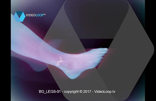 VideoLoop.tv | A woman's leg dancing