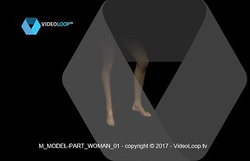 VideoLoop.tv | Arms and legs of mannequins