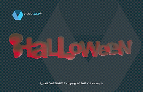 videoloop.tv | Halloween title