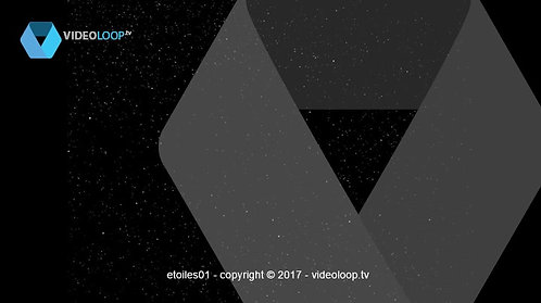 VideoLoop.tv | Animated stars in the cosmos