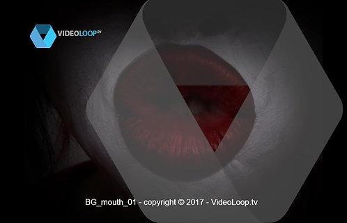 VideoLoop.tv | A ethnic lips make kisses
