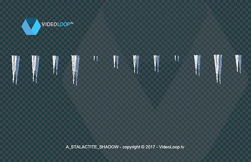 videoloop.tv   Stalactite growing down