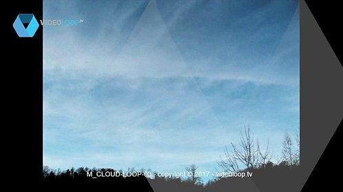 VideoLoop.tv   Colored clouds loop animation