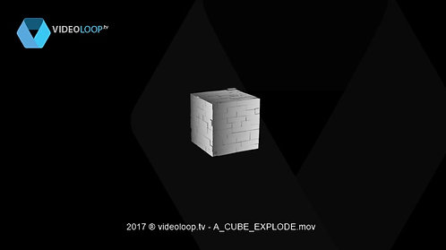 VideoLoop.tv   Cube explode