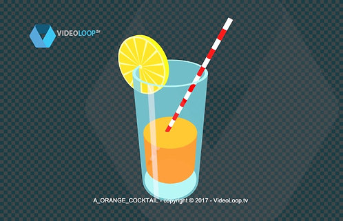 Videoloop.tv | A cocktail glass
