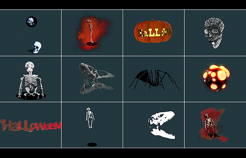 videoloop.tv | halloween pack