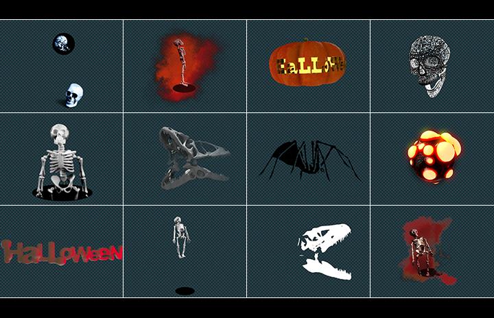 Halloween video pack