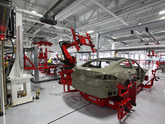 Tesla production is now three times greater than the level critics said was impossible