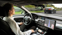 Autonomous cars are coming, this video of a Tesla in autonomous mode makes the point