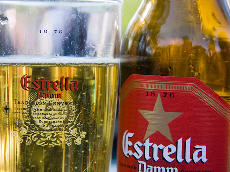 Ethical use of Estrella beer cans reaches parts other beers can't reach
