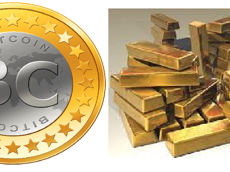 Is Bitcoin on the verge of supplanting gold as a store of value?