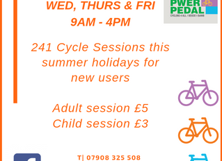 Two for One Cycle Rides This Summer