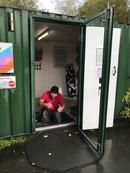 New Floor for Pedal Power Cabin