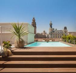 Rooftop in la Barceloneta