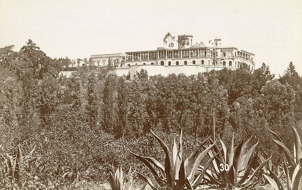 Mexico_City._Chapultepec_Castle, 1885.jp