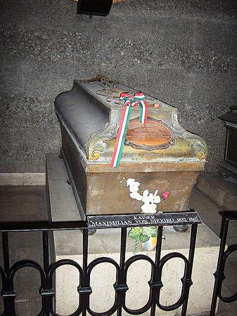 Maximilian.von.Mexico ve Vídni.jpg