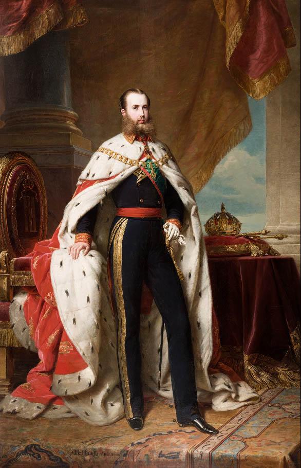Emperador_Maximiliano_I_de_Mexico, 1864.