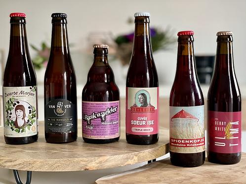 Lokaal & Fruitig  -- Belgische Fruitbieren (6x2) 12 stuks
